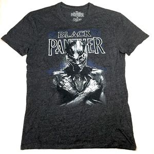 Marvel Black Panther T-Shirt Tee Mens Size Medium